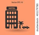 hotel vector illustration | Shutterstock .eps vector #401179780