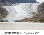 usa alaska  the glacier point... | Shutterstock . vector #401182144