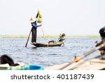 Fishermen In Inle Lake At...