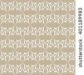 seamless abstract pattern.... | Shutterstock .eps vector #401189983