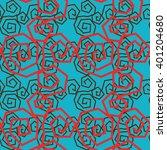 spiral seamless pattern | Shutterstock .eps vector #401204680