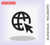 go to web . vector icon 10 eps | Shutterstock .eps vector #401206393