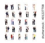 together we stand united... | Shutterstock . vector #401227708