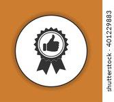 medallion icon. flat design... | Shutterstock . vector #401229883
