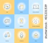 creative web design  seo and...   Shutterstock .eps vector #401231539