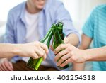 friendship  alcohol  people ... | Shutterstock . vector #401254318