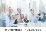 business  technology and office ... | Shutterstock . vector #401257888