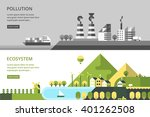 modern vector flat design... | Shutterstock .eps vector #401262508