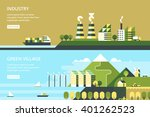 modern vector flat design... | Shutterstock .eps vector #401262523