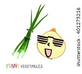 cool vegetables. childish funny ...