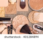 makeup products to create the... | Shutterstock . vector #401284894