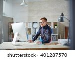 busy engineer | Shutterstock . vector #401287570