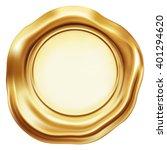 golden seal   Shutterstock .eps vector #401294620