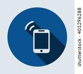 smartphone icon isolated vector ...