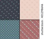 vector aztec seamless pattern... | Shutterstock .eps vector #401298646