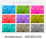 abstract geometric backgrounds... | Shutterstock .eps vector #401301154