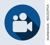 video camera icon | Shutterstock .eps vector #401315914