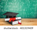 graduation. | Shutterstock . vector #401319409