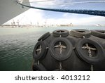 bow of a ocean liner ship | Shutterstock . vector #4013212