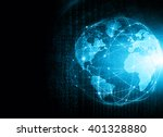 best internet concept of global ... | Shutterstock . vector #401328880
