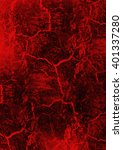 grunge red and black background ... | Shutterstock . vector #401337280