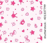 pattern princess | Shutterstock .eps vector #401337799