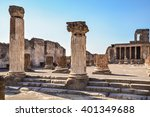 Roman Archeologic Ruins Of The...