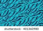 kelp seaweed blue floating with ... | Shutterstock .eps vector #401360980