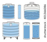 Industrial Water Tanks Set....