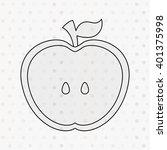 healthy food design    Shutterstock .eps vector #401375998