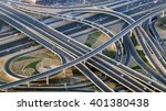 top view city traffic of... | Shutterstock . vector #401380438