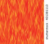 Seamless Pattern With Fire....