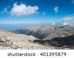 on the top of mount olympus  ... | Shutterstock . vector #401395879
