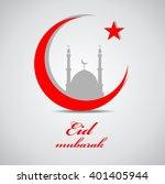 illustration of ramadan ... | Shutterstock . vector #401405944