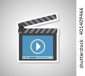 movie icon design  vector...   Shutterstock .eps vector #401409466