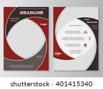 vector flyer template design....   Shutterstock .eps vector #401415340