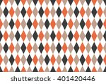 vintage circus geometric... | Shutterstock .eps vector #401420446