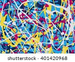 Abstract Expressionism Seamles...