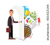 business career opportunity... | Shutterstock .eps vector #401422144