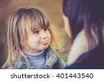 mummy and daughter having fun...   Shutterstock . vector #401443540