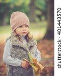 beautiful young girl having fun ...   Shutterstock . vector #401443570