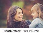 mummy and daughter having fun...   Shutterstock . vector #401443690
