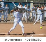 High School Softball Player...
