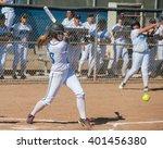 High School Softball Player...