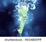 key under water | Shutterstock . vector #401480599