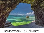 Seaview From The Cave At...