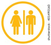 wc persons vector icon. image... | Shutterstock .eps vector #401490160