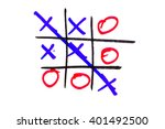 xo game | Shutterstock . vector #401492500