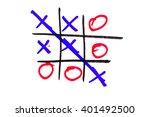 xo game | Shutterstock . vector #401492500