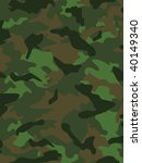 vector camouflage series in the ... | Shutterstock .eps vector #40149340